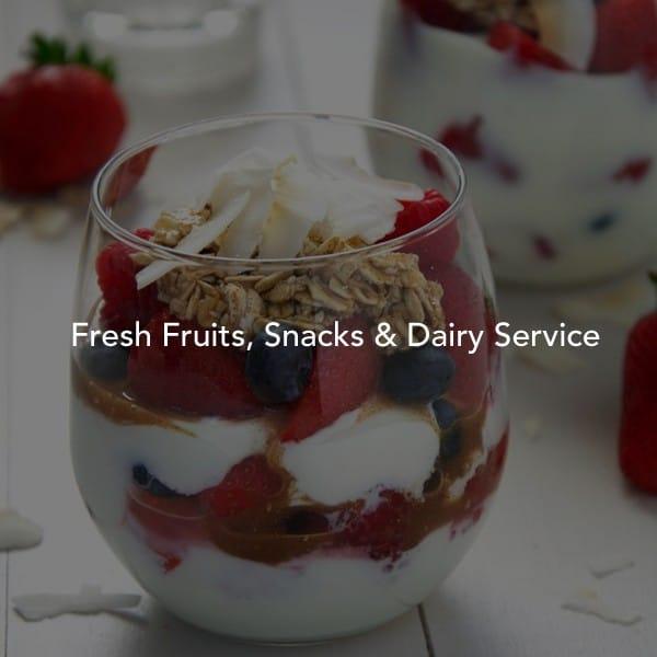 Fresh office fruit