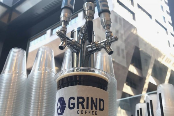 Grind Coffee Taps